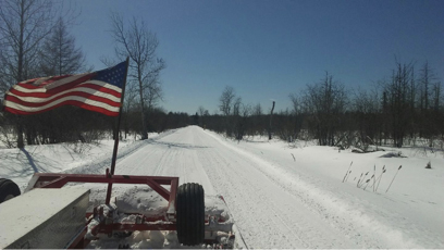 Easton Maine Trailbreakers Groomer